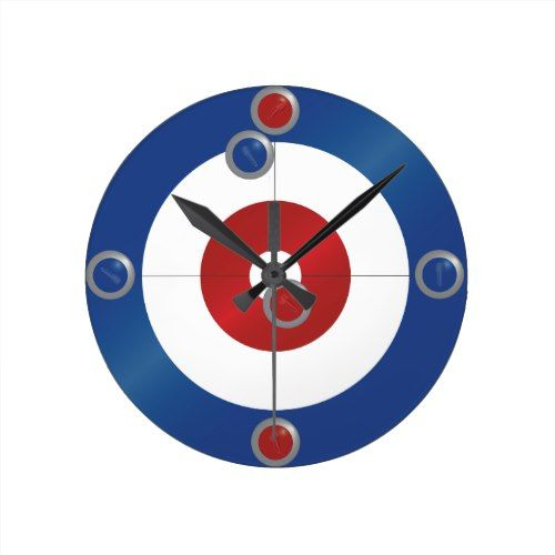 Curling Clock